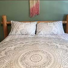 blue ombre elephant tapestry duvet cover sample pillowcases