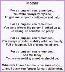 love your mom quotes mother just like you love poem for mom 8 x