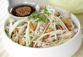 cuisiner choux blanc salade de chou blanc au poulet sésame et noix de cajou les fruits