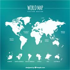 free map white world map vector free