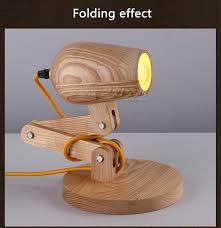 Creative Table Lamps Creative Desk Lamp Scandinavian Style Wood Table Lamp Wooden Desk