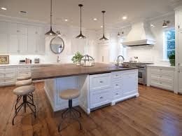 kitchen island with wood top wood top kitchen island traditional with breakfast bar intended