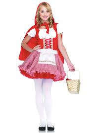 Scary Halloween Costumes Teenage Girls Red Riding Hood Costumes Halloweencostumes
