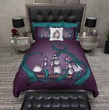 Anchor Comforter Nautical Anchor U0026 Beach Theme Ink And Rags