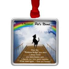 rainbow bridge ornaments keepsake ornaments zazzle
