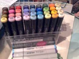 copic sketch 25th anniversary limited edition set u0026 other art