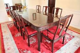 8 Chair Dining Table Set Rosewood Dining Table Ebay