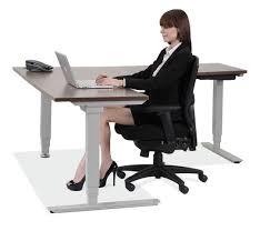 Adjustable Stand Up Sit Down Desk by Standup Desks Larner U0027s Office Furniture Charlotte Nc