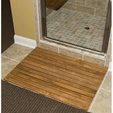 bathroom mat ideas bathroom teak shower mat with bamboo and teak bath mats also