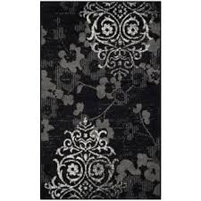 Black And Silver Rug Black Accent Rugs Shop The Best Deals For Nov 2017 Overstock Com