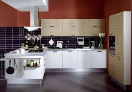 Refinishing Melamine Kitchen Cabinets by Kitchen Minimalist Look Kitchen Cabinet Refinishing Idea Brown