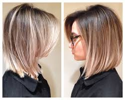 red brown long angled bobs ombré hair balayage hair painting long bob blonde by natalie ruzgis