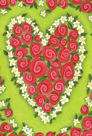 Decorative Garden Flags Heart Valentine Garden Flags Valentine U0027s Day Wikii