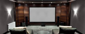 adorable home theater design and installation with small home