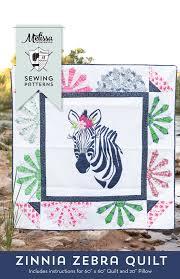 introducing zinnia the zebra quilt pattern the polka dot chair