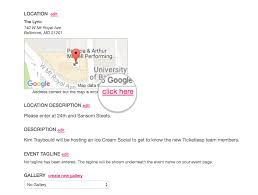 How To Show Multiple Locations On Google Maps The Google Map For My Event Is Incorrect Help U2013 Ticketleap