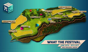 Festival Map Parking U0026 Vehicle Camping What The Festival A Boutique Experience