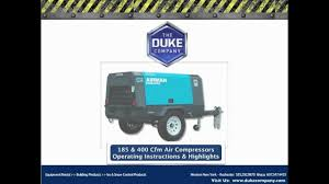 towable air compressor rental in rochester ny and ithaca ny 185