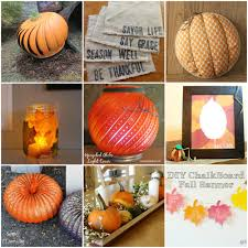 12 days of fall diy home decor projects