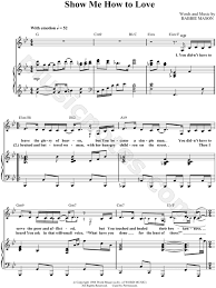simple man lyrics printable version babbie mason show me how to love sheet music in bb major
