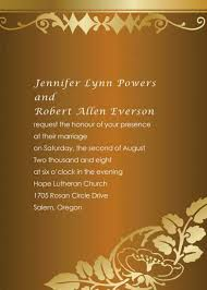 Invitation Card For Dinner Wedding Dinner Invitation Card Design
