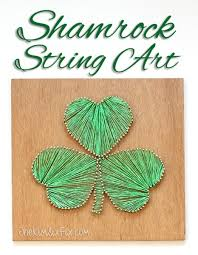 shamrock string art the kim six fix