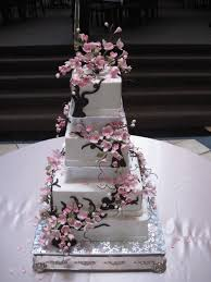 cherry blossom wedding cherry blossom wedding cake cakecentral