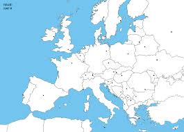 Blank Map Of Europe Quiz by Unit 3 Mr Reid Geography For Life