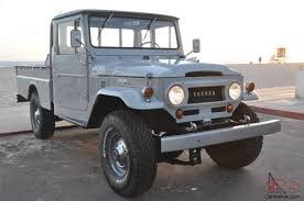 land cruiser pickup 1998 toyota fj45 truck long bed ready to go 4wd rare bid to win