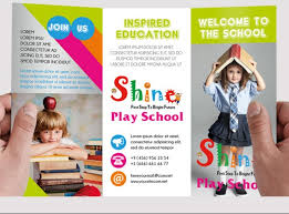 play school brochure templates 15 kindergarten brochure template psd free and premium designs