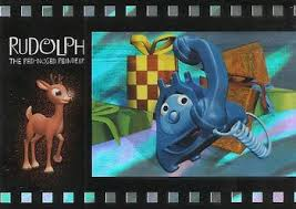 2001 dart flipcards rudolph the nosed reindeer the island of