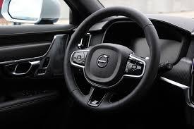 volvo steering wheel 2017 volvo v90 r design review autoguide com news