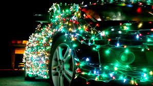 what do christmas lights represent man fined 232 for adorning his car with christmas lights