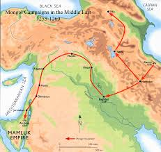 Baghdad Map Today In Middle Eastern History The Mongols Sack Baghdad 1258