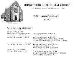 ridgewood pentecostal church 90th anniversary meetings on vimeo