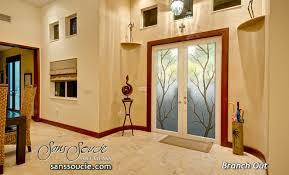 glass insert for front door branch out ii in color door glass inserts sans soucie