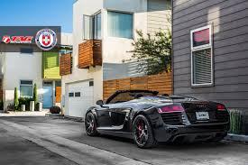 audi r8 spyder black black on black audi r8 spyder by tag motorsports gtspirit