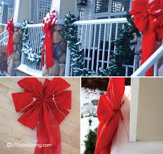 Christmas Decorations Outdoor Columns by