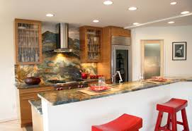 Onyx Kitchen Backsplash by Continuous Backsplashes With Onyx Slabs On Countertops Marble