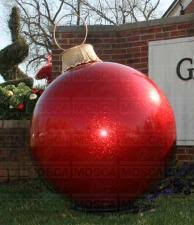 Extra Large Inflatable Christmas Decorations by Large Christmas Balls Learntoride Co