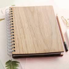 wedding planner journal personalised walnut wedding planner by oakdene designs