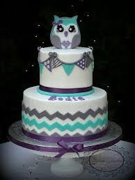 owl themed baby shower baby shower cake ideas owls lovely chevron owl themed baby shower