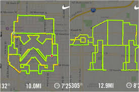 Map A Running Route by Us Runner Maps Running Routes Based On Star Wars Characters