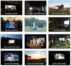 here u0027s our 15 foot inflatable screen rental packages u2013 super size