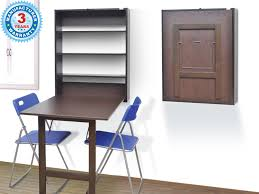 Buy Wall Mounted Study  Dining Table Online In Chennai - Wall mounted dining table designs