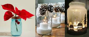 christmas decorations made of empty jars u2013 every day inbox