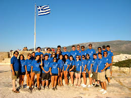 Greek Flag Background Journey To Greece 2009 Blog Page 2