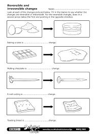 chemical vs physical change worksheet worksheets