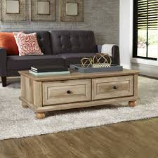 Living Room Table With Drawers Better Homes And Gardens Crossmill Coffee Table Finishes