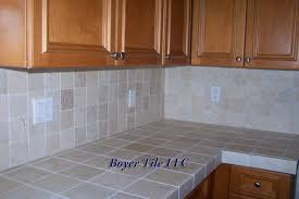 wood countertops ceramic tile kitchen backsplash pattern porcelain